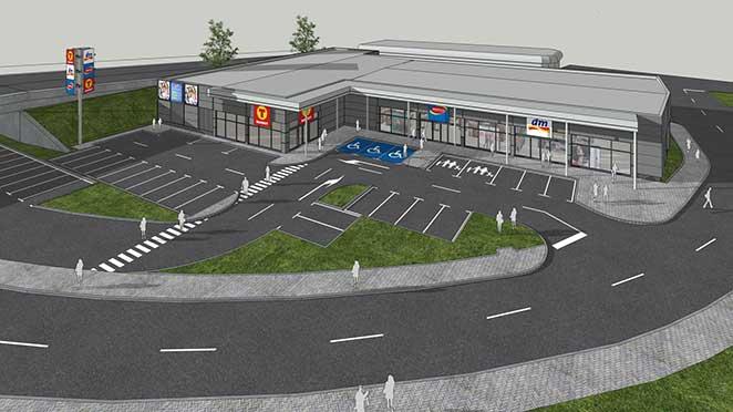 Нов търговски комплекс в Димитровград