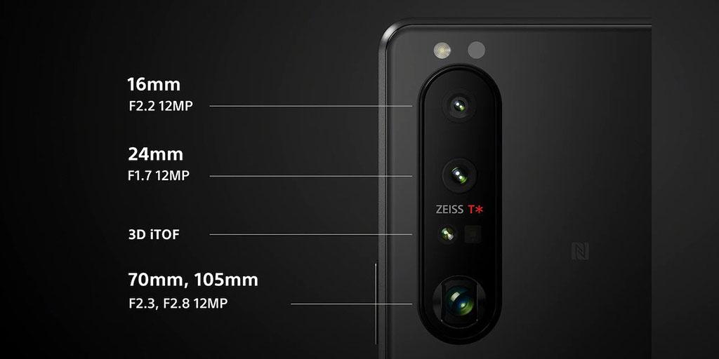 Камера на Sony Xperia 1 III