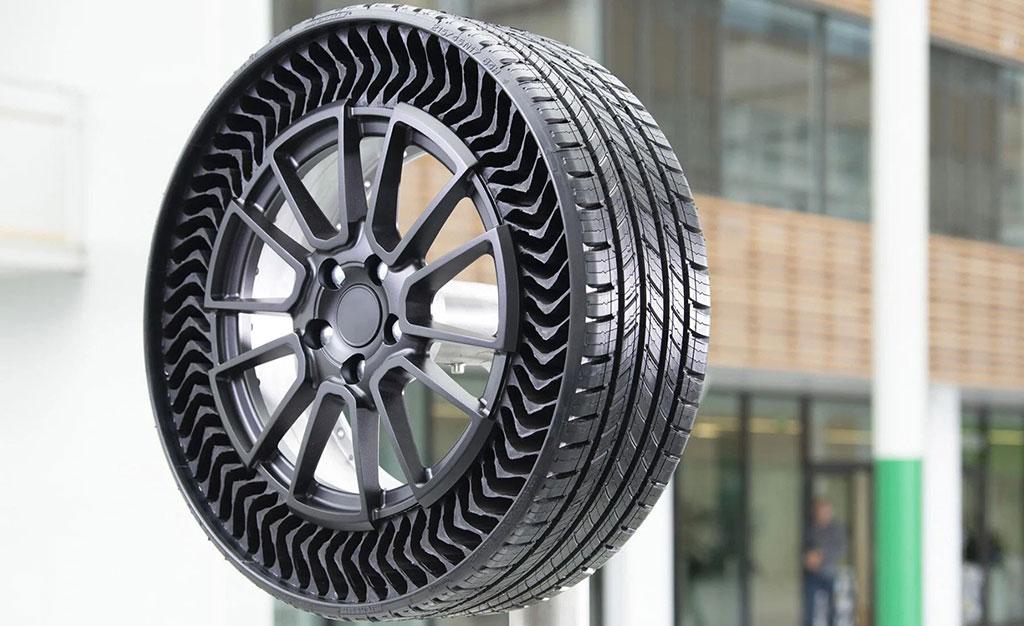 Безвъздушните гуми Michelin не могат да бъдат пробити