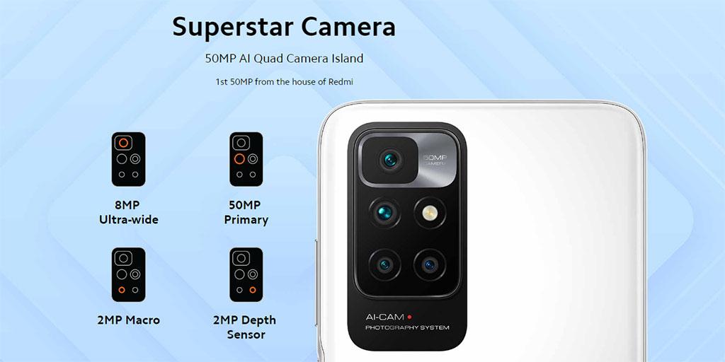 Камера на Xiaomi Redmi 10 Prime