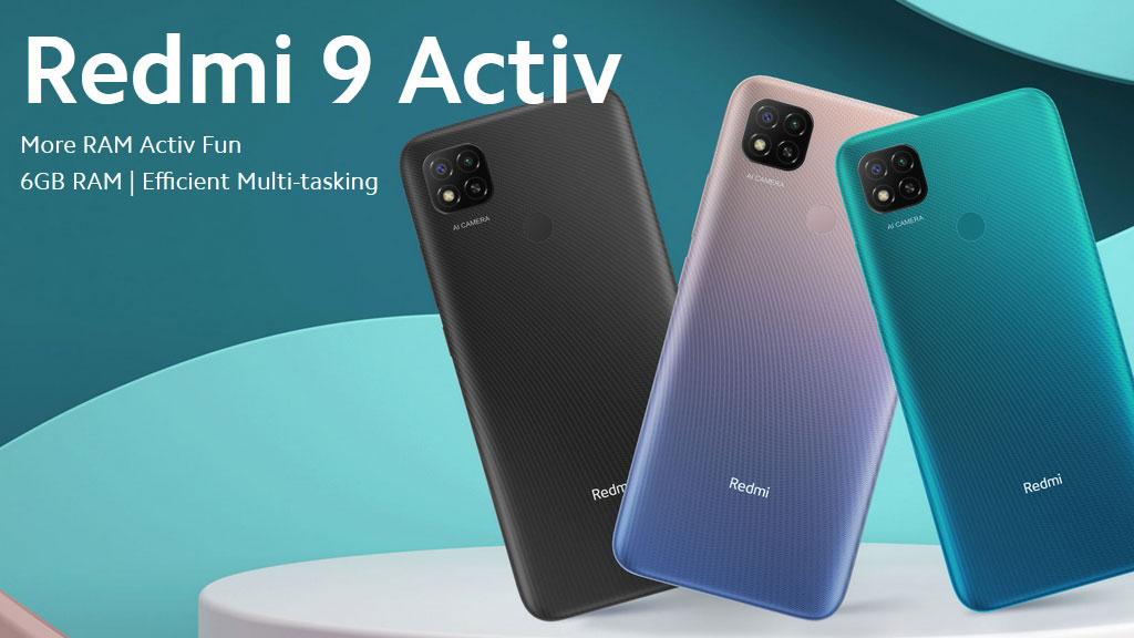 Redmi 9 Activ с 6 GB RAM и 5000 mAh батерия