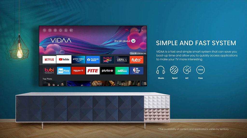 VIDAA U5 Smart TV OS
